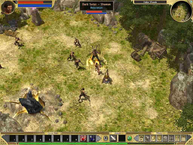 Titan Quest Game Free Download