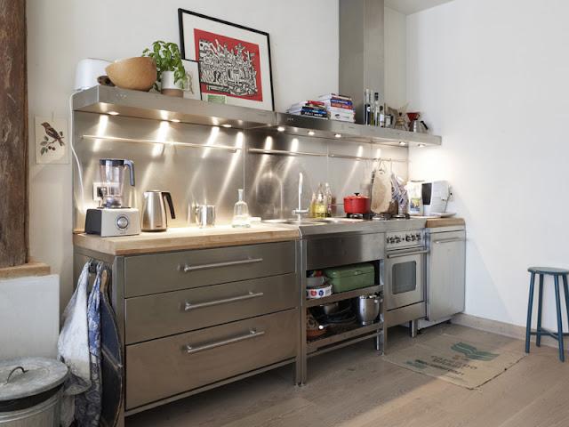 Interior of Dutch designer Anne Olde Kalter's home