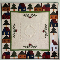 Huisjes quilt