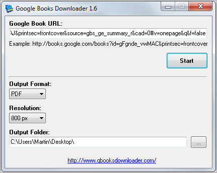 Download - Google Books Downloader for Windows and Mac OS X