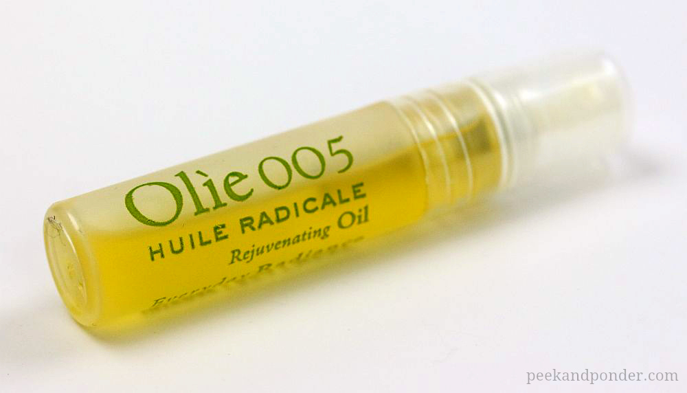 Olie facial oil