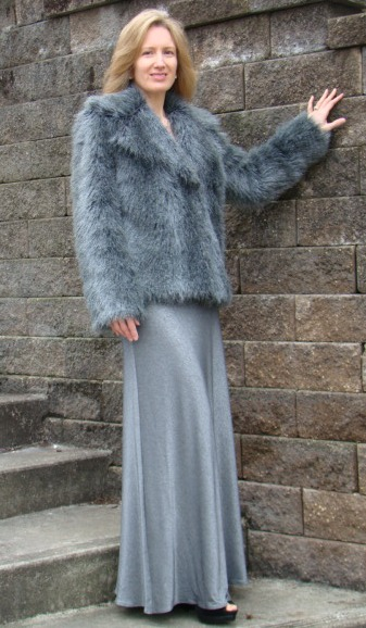 Did You Really Sew That 1936 Gown And Faux Fur Coat