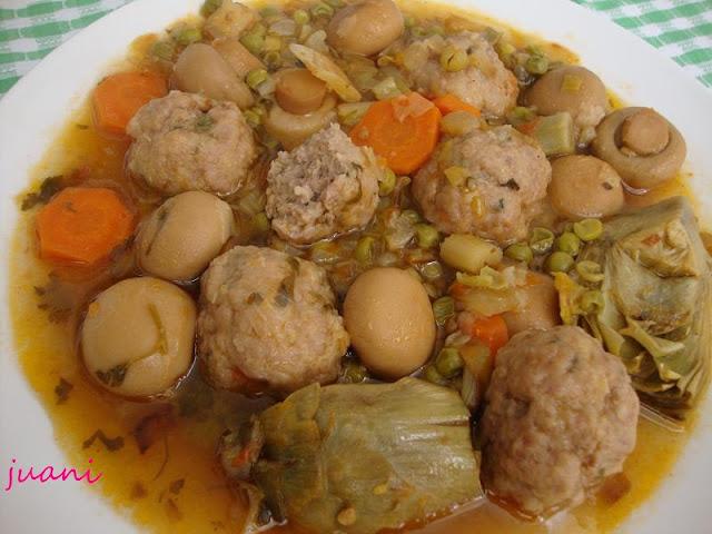 Las cosillas que hago alb ndigas con champi ones y m s - Albondigas con verduras ...
