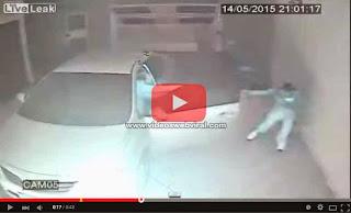 Policía brasileño ahuyentó a tres ladrones a disparos