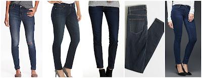 Old Navy High Rise Rockstar Distressed Jeans $30.00 (regular $34.94)  LC Lauren Conrad Skinny Jeans $36.99 (regular $50.00)   Democracy Absolution Jegging $39.97 (regular $68.00)  J. Crew Factory Dusty Blue Wash Skinny Jean $42.50 (regular $85.00)  Gap 1969 Super Stretch Legging Jeans $63.99 (regular $79.95)
