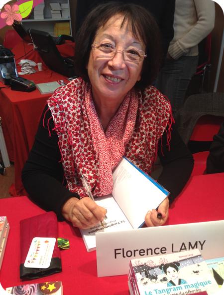 Florence Lamy - Salon Lire en Poche 2015 - Gradignan