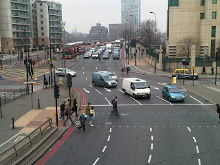 Vauxhall Cross on lambethcyclists.org.uk