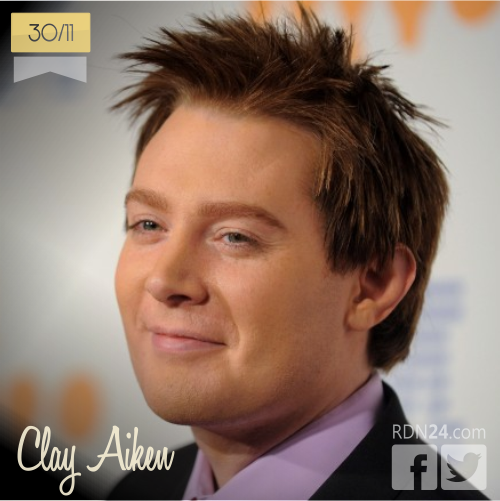 30 de noviembre | Clay Aiken - @clayaiken | Info + vídeos