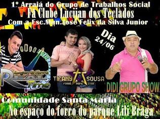 Arraiá em Santa Maria / Santana do Matos