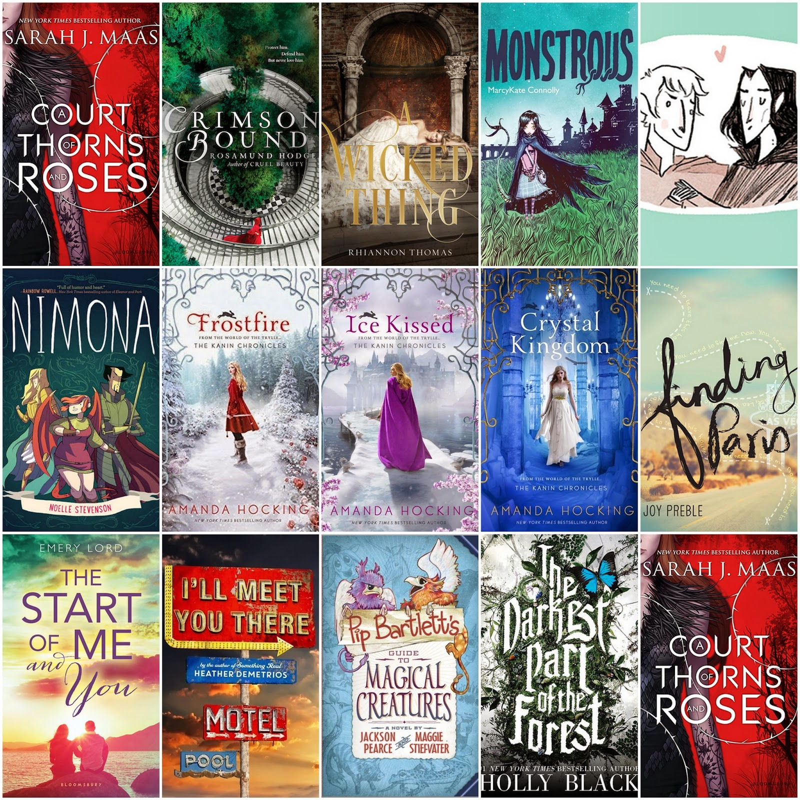 My Top 15 Most Anticipated Books For 2015!!!