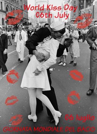 Tuttopertutti 06 luglio 2015 luned giornata mondiale for Giornata mondiale del bacio 2018