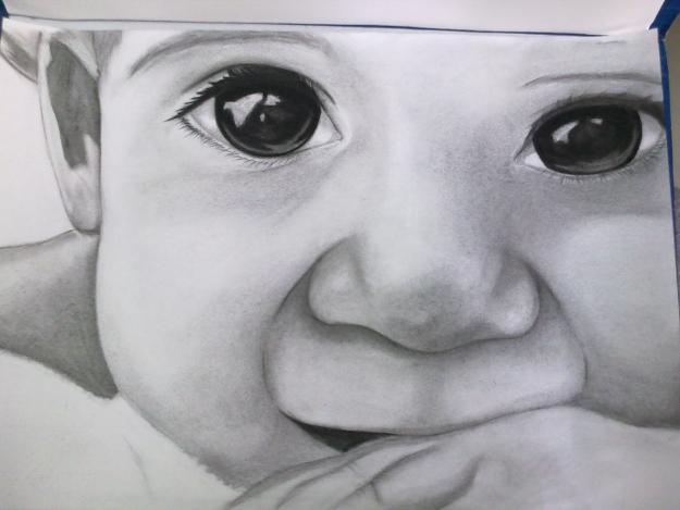 Dibujos beb a lapiz  Imagui