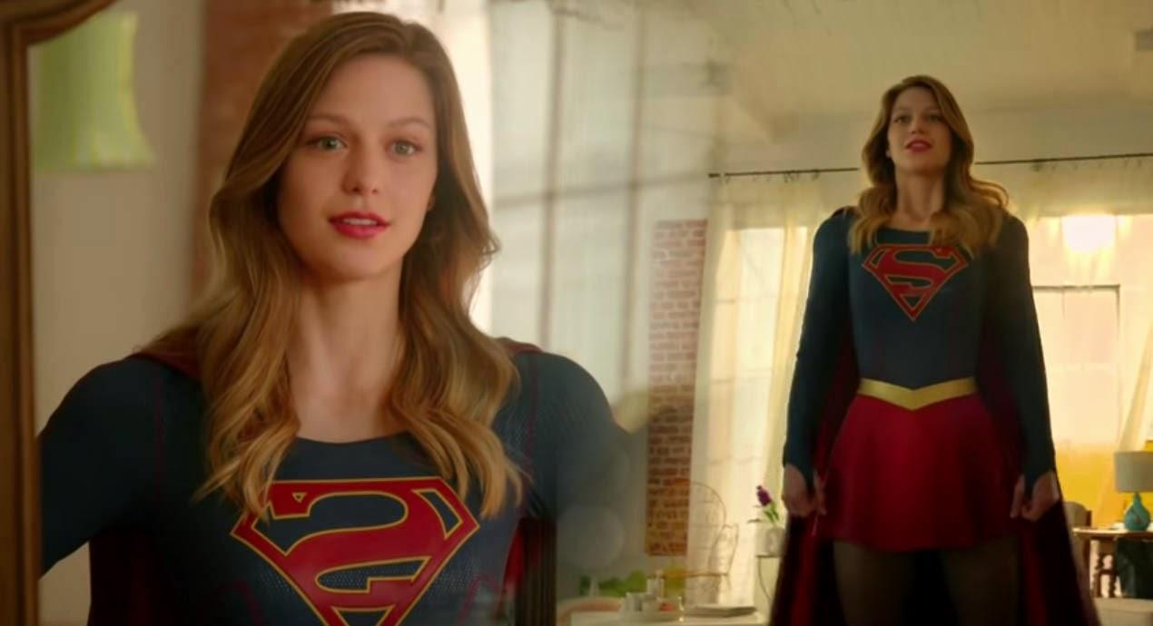 CBS Supergirl 2015 TV Trailer Impression Superhero TV Series review CMAQUEST