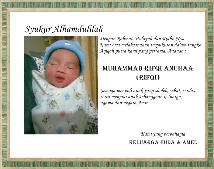 results contoh ucapan syukuran comment on this picture ucapan aqiqah