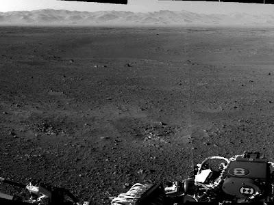 Марс. Кратера Гейла