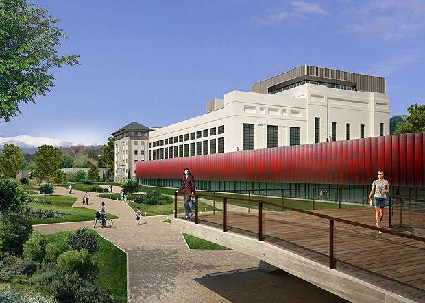 Arquitectura en espa a museo nacional de la energ a for Oficinas endesa cordoba