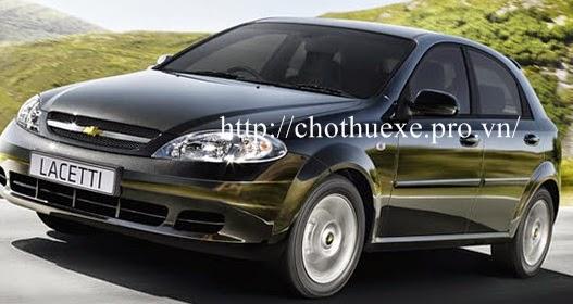 Cho thuê xe 4 chỗ Chevrolet Lacetti EX giá ưu đãi nhất