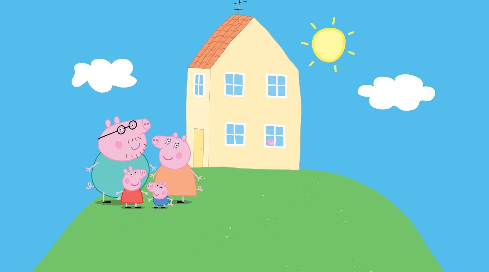 Apuntes en mi cuaderno rosa peppa pig ser realmente for Para su casa