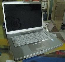 jual laptop second compaq c500