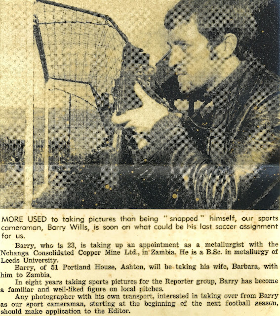 B.A. Wills 1969