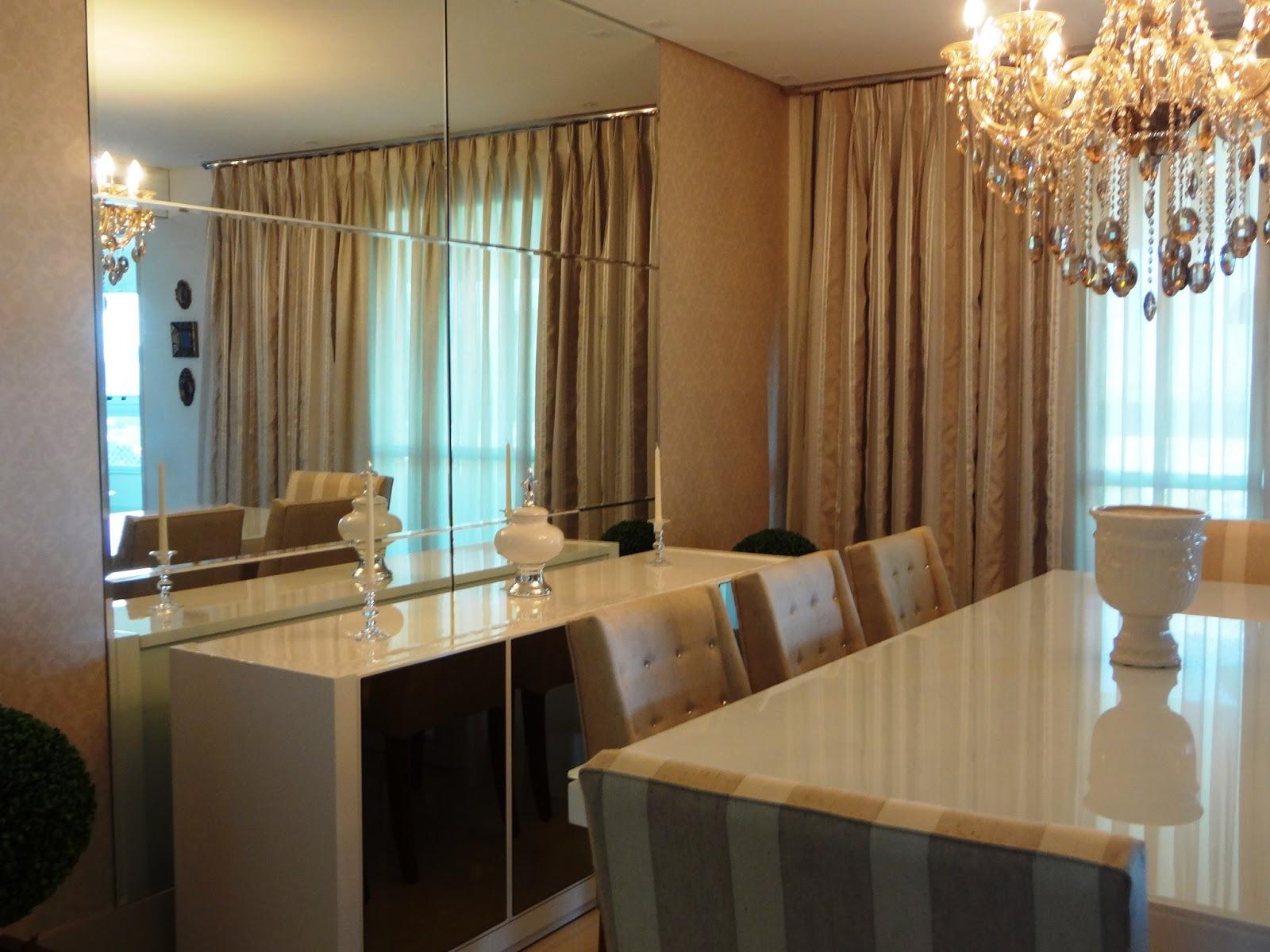 Buffet De Sala De Jantar ~ Livia Martins Apartamento Vanessa e Marco