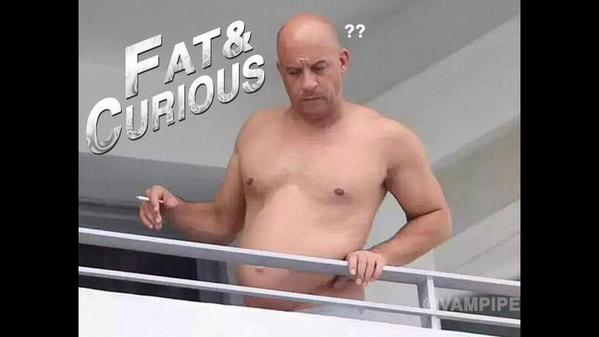 #fat #curious #fastandfurious #vindiesel.- fat & curious ??