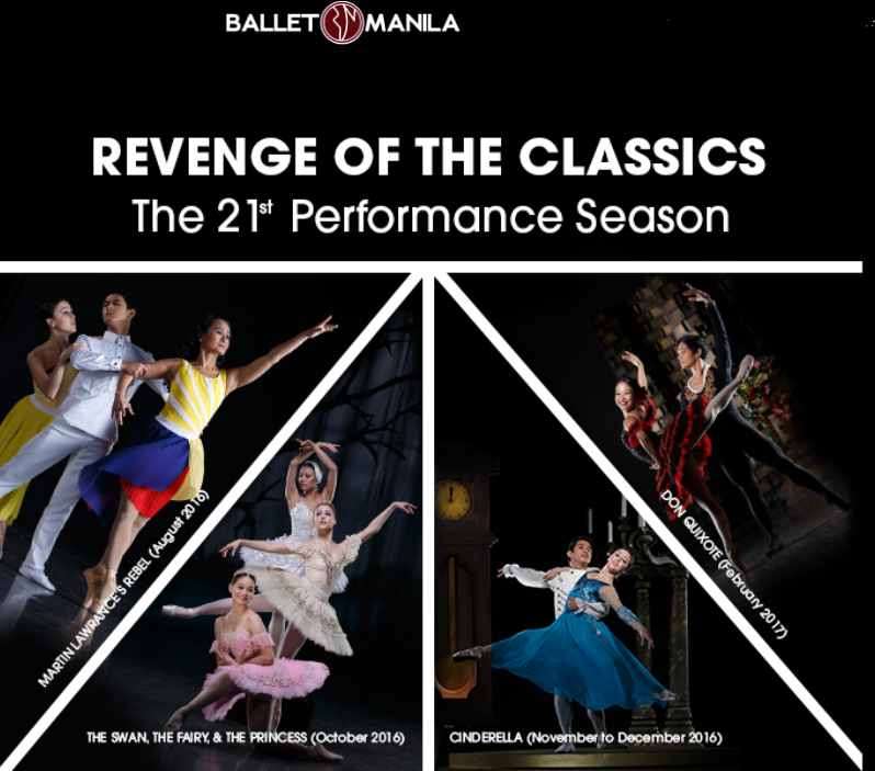Ballet Manila Mounts Revenge of the Classics