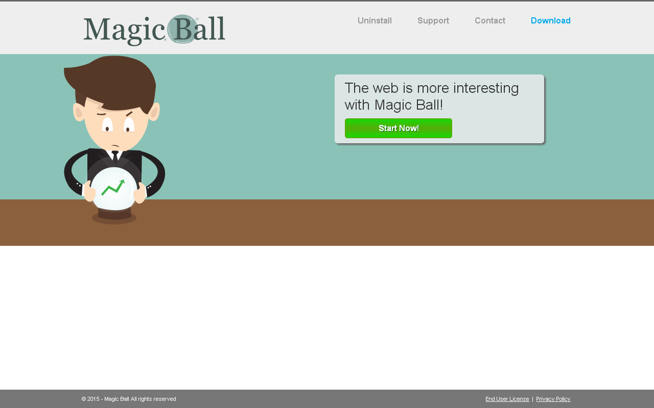 Magic Ball adware