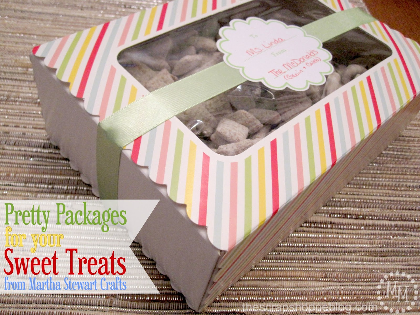 Pretty Packaging For Your Sweet Treats With Martha Stewart Coupon