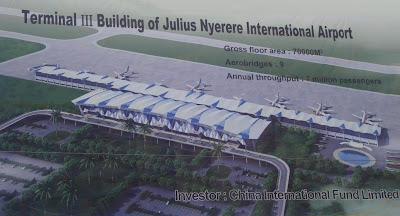 The original design proposed for Dar es Salaam JNIA Terminal III