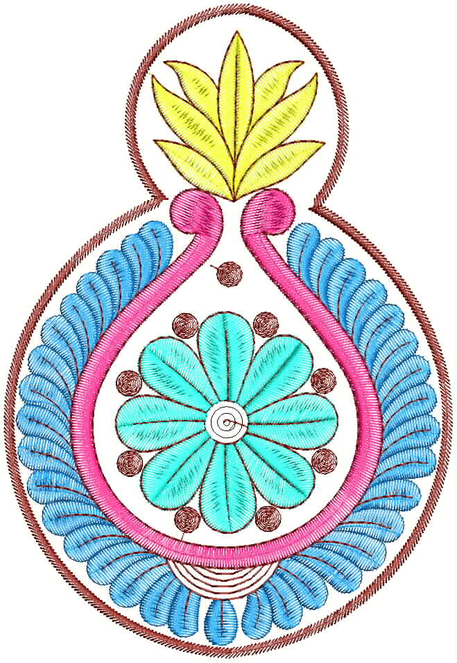 Embdesigntube new embroidery designs butta