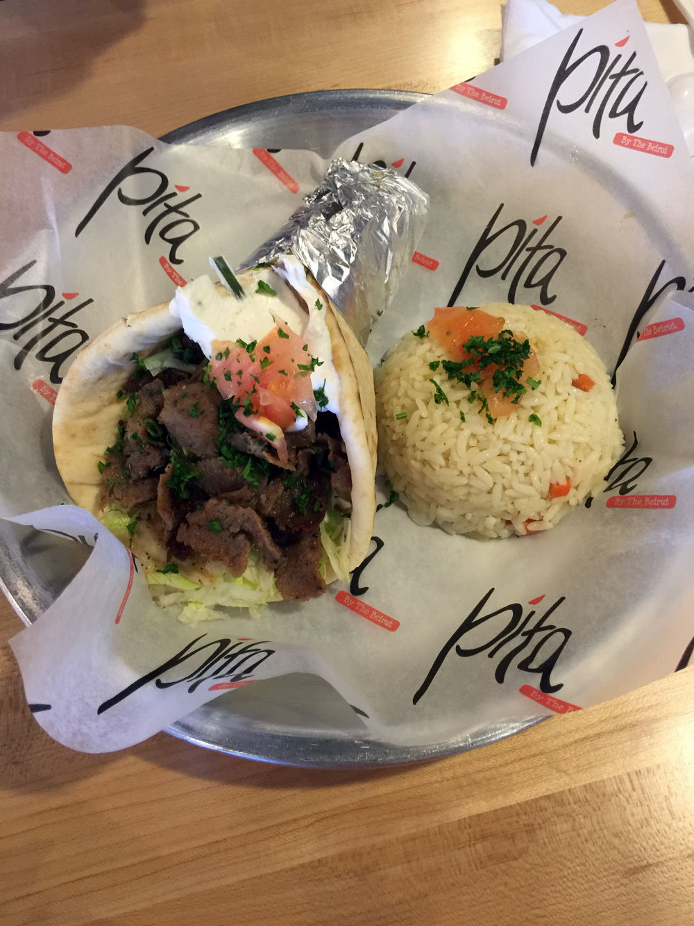 Independent Restaurant Review: Pita by the Beirut - Dunwoody Georgia