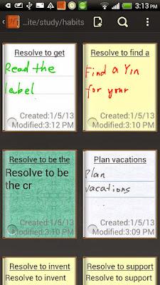 Handrite note Notepad Pro APK 2.09
