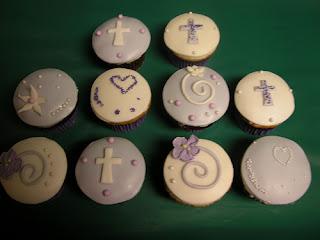 Cupcake, Pasteles de Primera Comunión