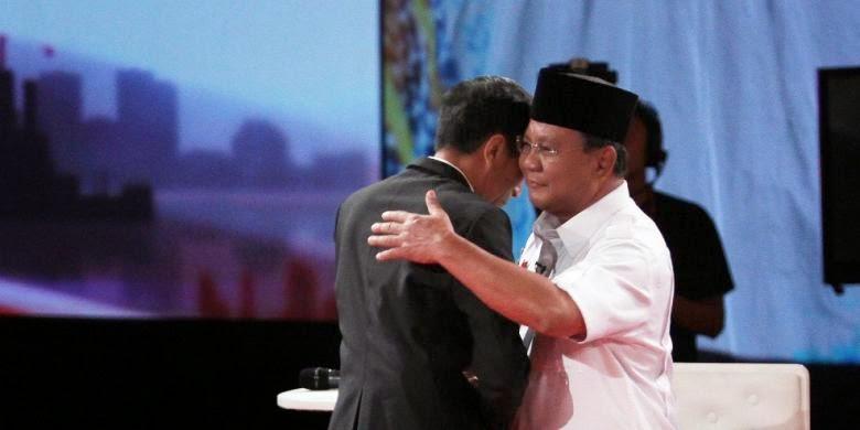 Video Prabowo Tolak Cipika-Cipiki Jokowi Beredar di Youtube
