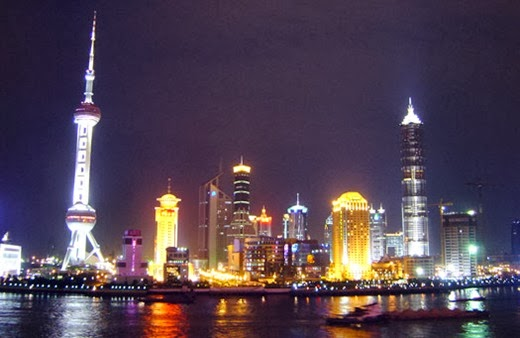 Shanghai,China 10 cities to visit in the year 2014