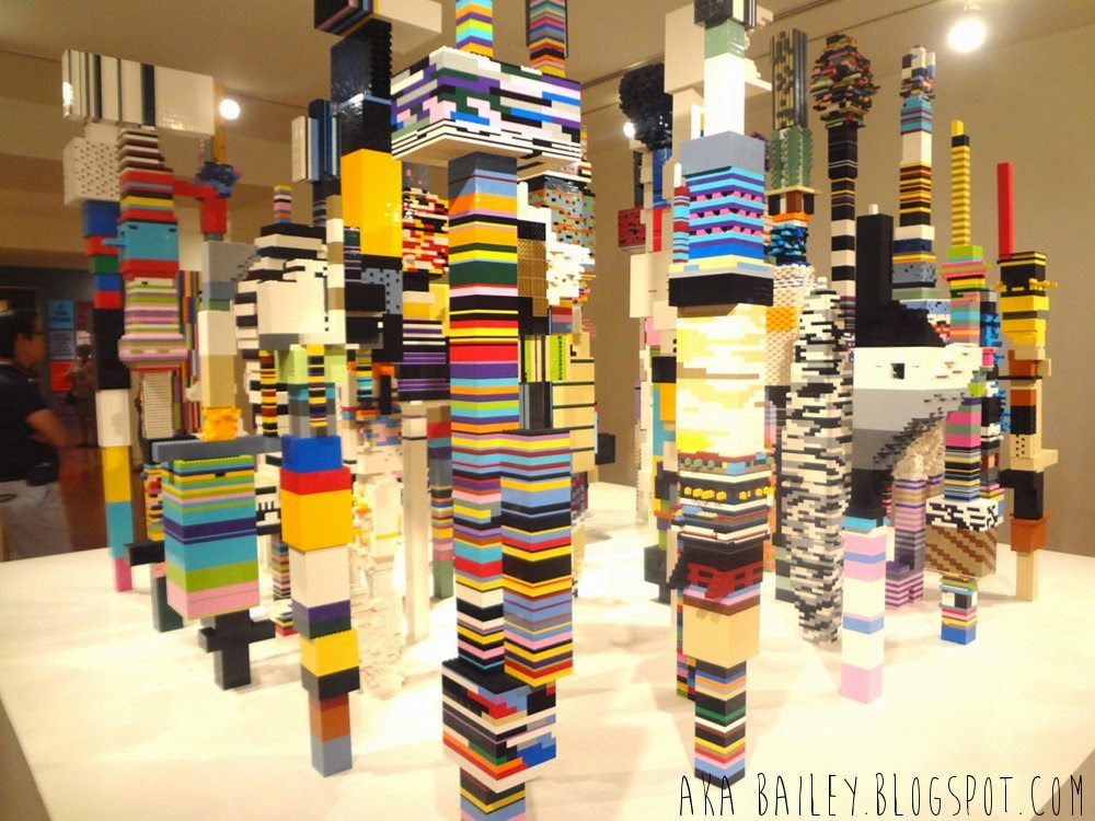 Douglas Coupland, Lego city towers