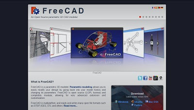FreeCAD, CAD Software
