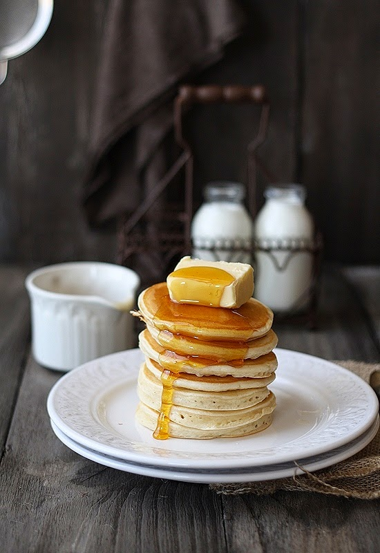 indulgent pancakes