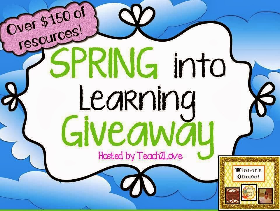 http://teach2love.blogspot.com/2014/02/spring-giveaway-live-now.html