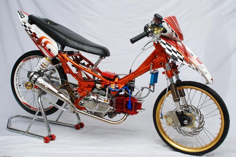 Download Gambar Modifikasi Motor Yamaha Byson