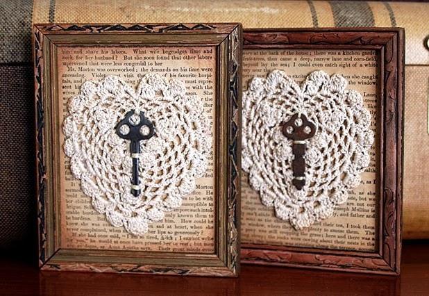 Decorando con llaves antiguas y candados parte 1 - Cosas antiguas para decorar ...