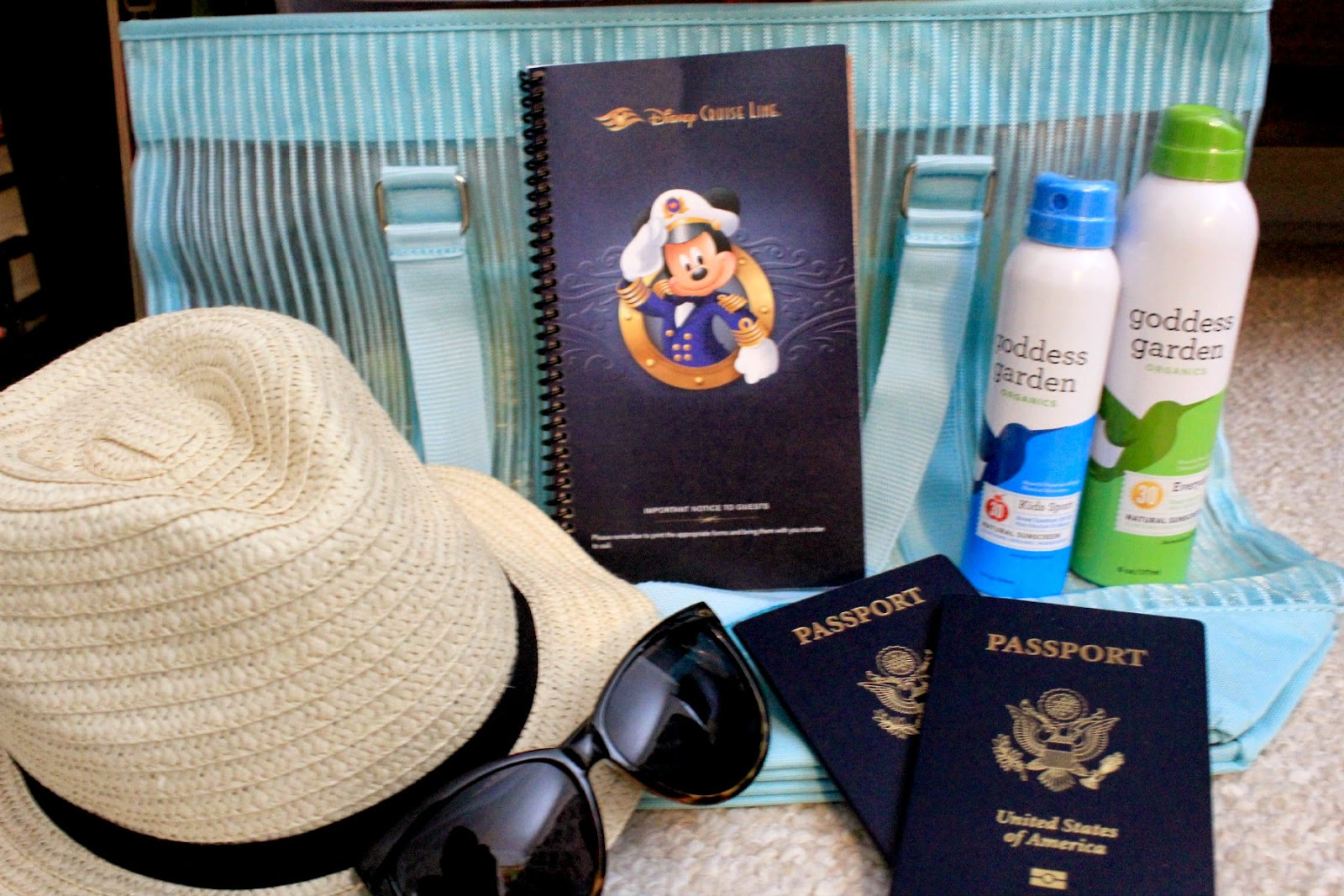 Cruise packing #GoddessGarden #ad