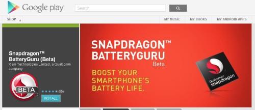 L'applicazione per risparmio energetico per Chipset Qualcomm Snapdragon