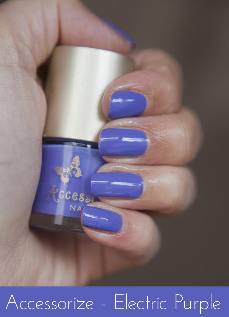electric purple nail polish - photo #16