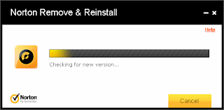 Checking for new version of Norton Remove & Reinstall