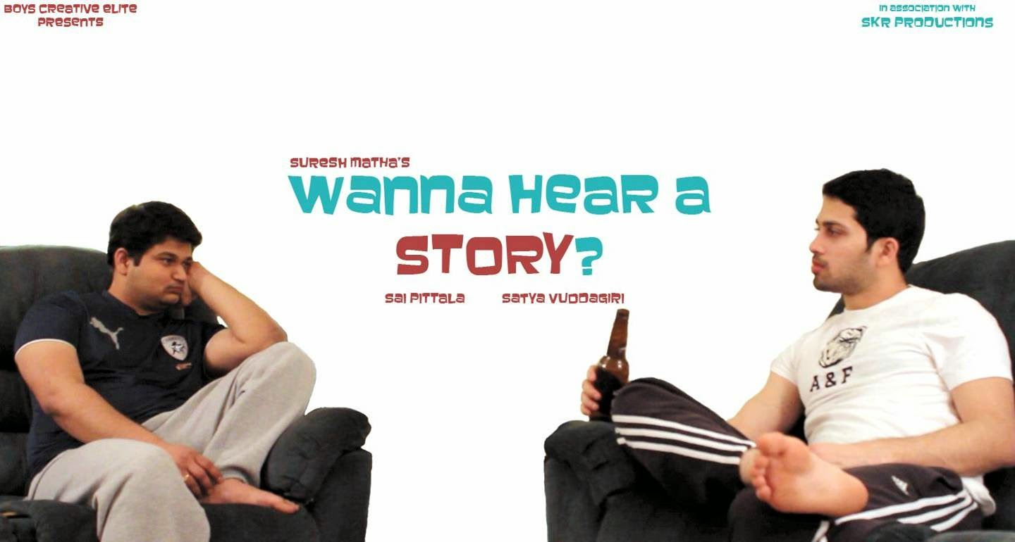 wanna hear a story telugu short film poster
