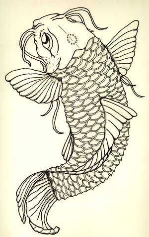 koi tattoo designs free. Free Tattoo Designs Pictures. Koi Tattoo Flash