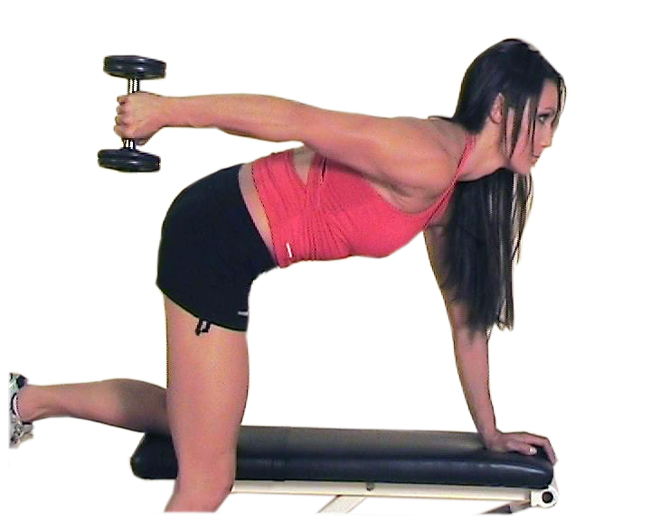 Triceps kickbacks a poor triceps dumbbell exercise by nick tumminello
