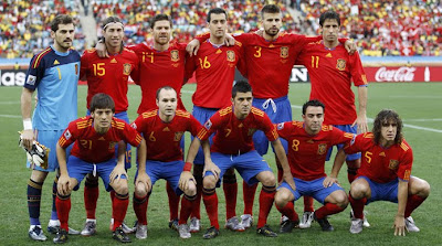 Spain National Team Euro 2012